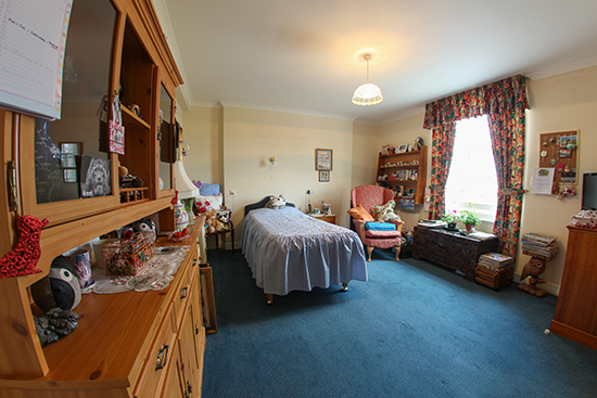 Resident's Room At St Peter's Care Home